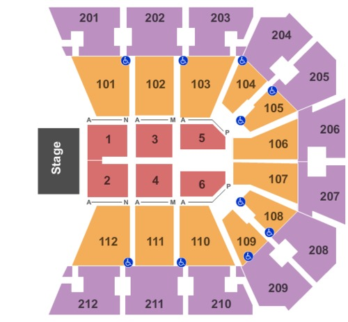 Bb Amp T Arena Tickets Seating Charts And Schedule In