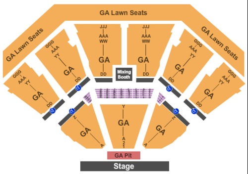Dos Equis Pavilion Tickets Seating Charts And Schedule In Dallas Tx At Stubpass