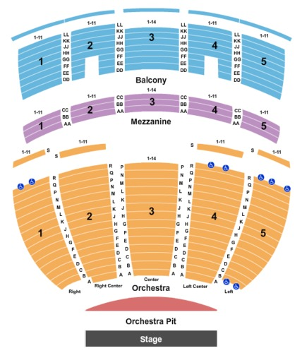 virginia theatre tickets seating charts and schedule in. Black Bedroom Furniture Sets. Home Design Ideas