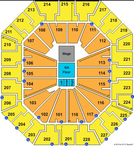 Colonial Life Arena Tickets Seating
