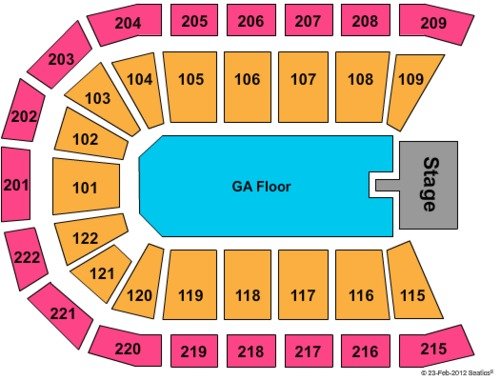Huntington Center Tickets Seating Charts And Schedule In Toledo Oh At Stubp