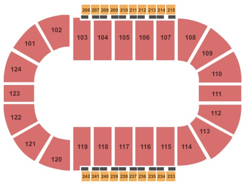 Santander Arena Tickets Seating Charts And Schedule In Reading Pa At Stubp
