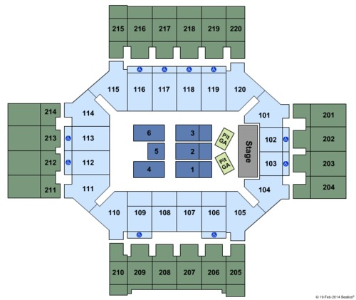 Broadmoor World Arena Tickets Seating Charts And Schedule