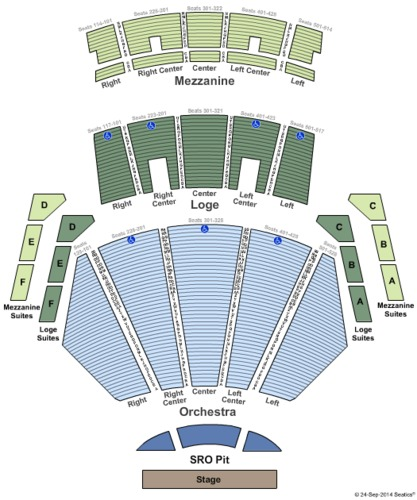 Microsoft Theater Tickets Seating Charts And Schedule In