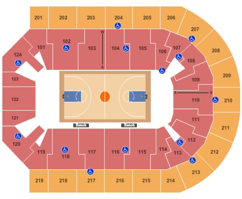 Denny Sanford Premier Center Tickets Seating Charts And Schedule In