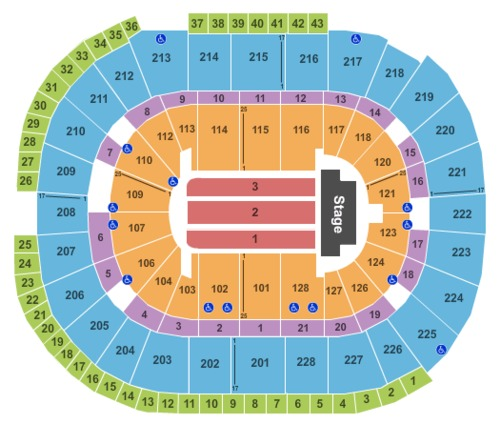 SAP Center Tickets, Seating Charts And Schedule In San