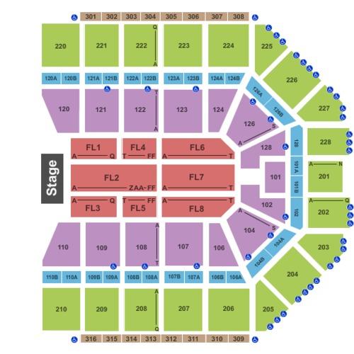 Van Andel Arena Tickets Seating Charts And Schedule In Grand Rapids Mi At Stubpass