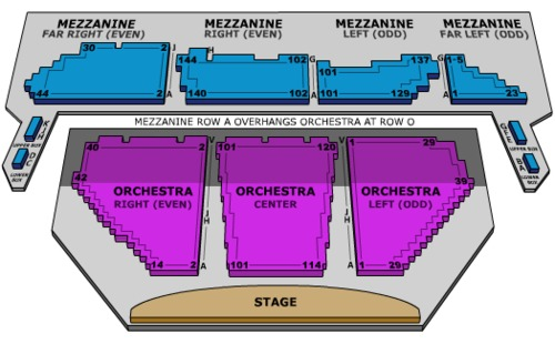 Winter Garden Theatre Tickets Seating Charts And Schedule