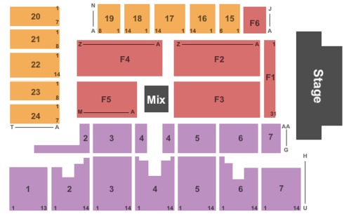 Five Flags Center Arena Tickets Seating Charts And Schedule In Dubuque Ia At Stubp