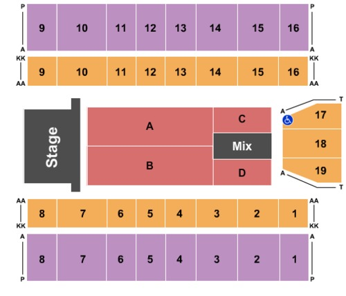 Big Sandy Superstore Arena Tickets Seating Charts And