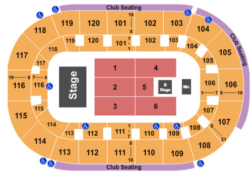 Hertz Arena Tickets Seating Charts And Schedule In Estero
