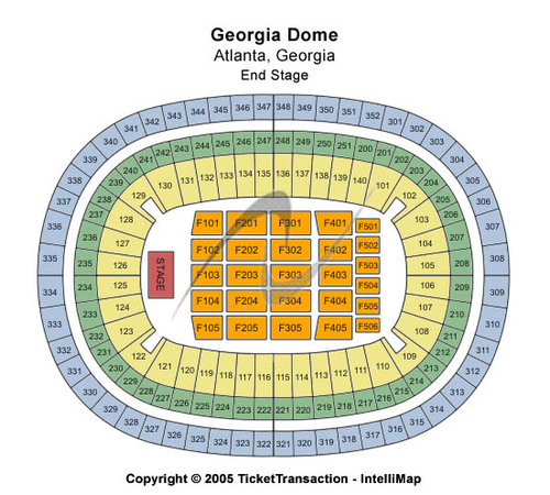 Georgia Dome Tickets, Seating Charts And Schedule In