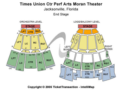 Moran Theater at Times Union Ctr Perf Arts