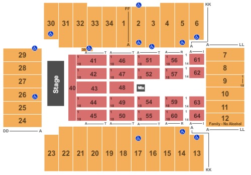 2791 Farome Tickets Seating Charts And Schedule In Fargo Nd At Stubp