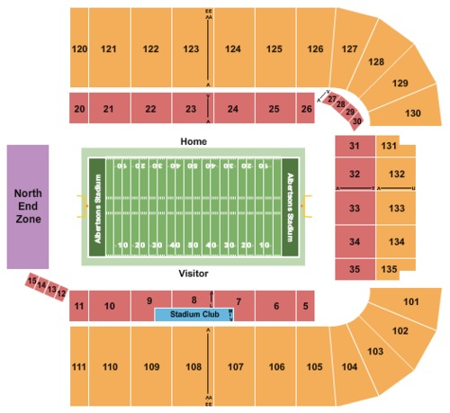 Albertsons Stadium Tickets Seating Charts And Schedule In
