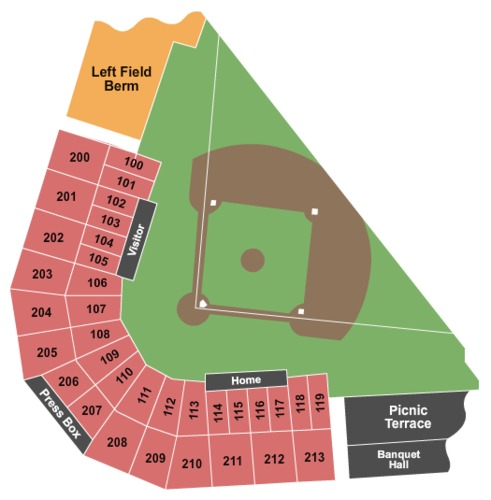 Security Service Field Tickets, Seating Charts And