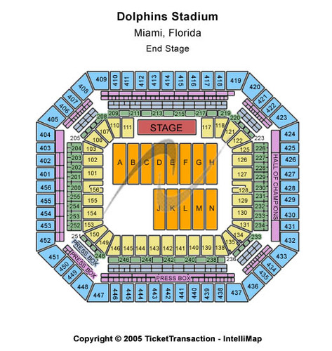 Sun Life Stadium (Formerly Dolphin Stadium)