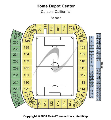 Home Depot Center - Soccer Stadium