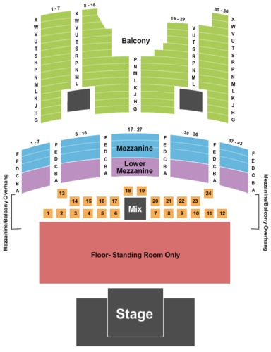 The Aztec Theatre Tickets Seating Charts And Schedule In