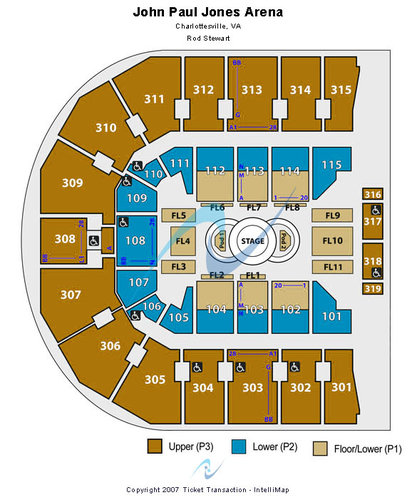 John Paul Jones Arena Tickets Seating Charts And Schedule In Charlottesville Va At Stubp