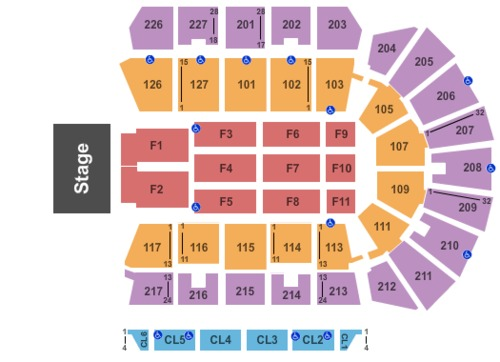 Stockton arena tickets seating charts and schedule in stockton ca