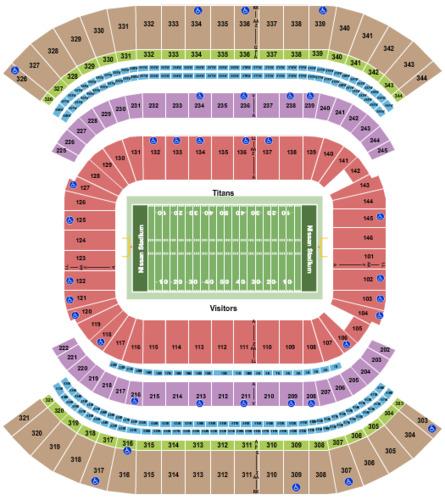 Nissan Stadium Tickets Seating Charts And Schedule In Nashville Tn