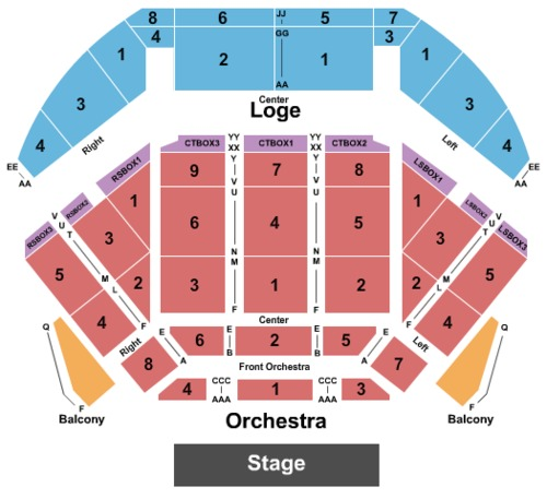 Tilles center seating chart rodriguez tour tilles center for the