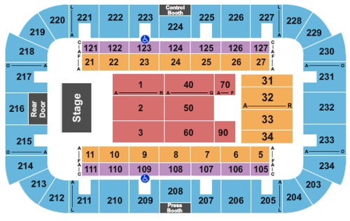 Jenkins Arena Rp Funding Center Tickets Seating Charts