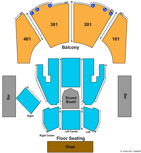 House Of Blues Tickets, Seating Charts And Schedule In
