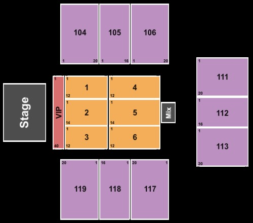 Crown arena the crown center tickets seating charts and schedule in