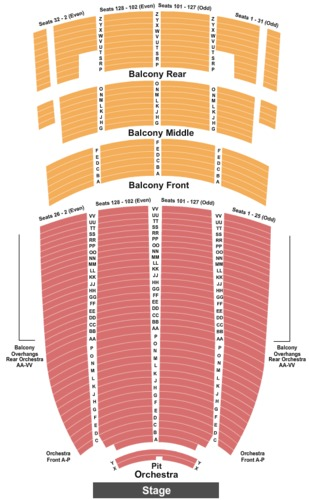 Paramount Theatre Tickets, Seating Charts and Schedule in Oakland CA