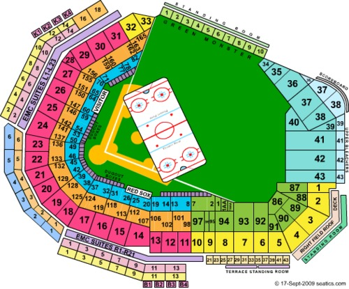 Fenway Park Tickets Seating Charts And Schedule In Boston Ma At