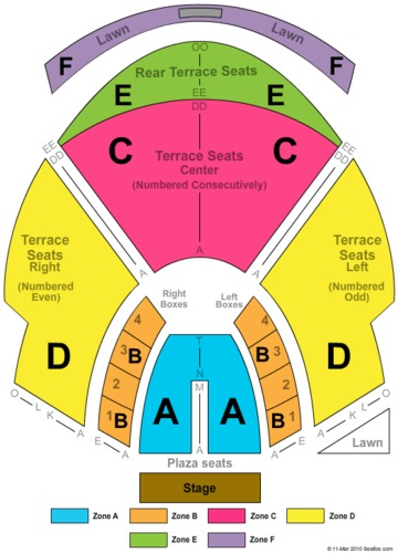 Cadence Bank Amphitheatre At Chastain Park Tickets Seating Charts And Schedule In Atlanta Ga Stubp