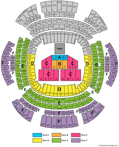 Mercedes Benz Superdome Tickets Seating Charts And Schedule In New Orleans La At Stubp