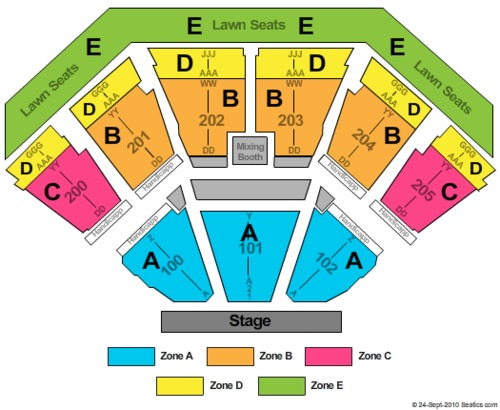 Dos equis pavilion tickets seating charts and schedule in dallas tx