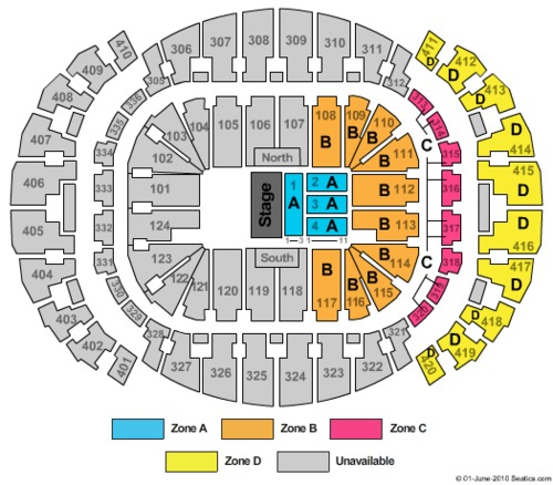 american airlines arena - waterfront theatre tickets